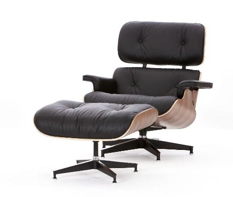 Sillón Eames lounge chair + ottoman