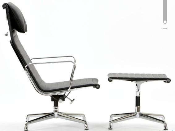 Ribbed Aluminium chair