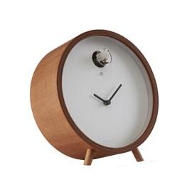 Reloj de mesa (cuco madera)