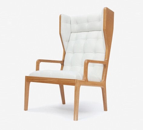 Wingback chair -James-