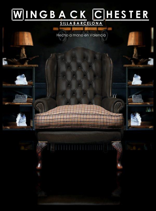 Sillón Wingback chair