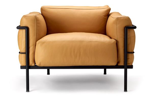 sillon LC3 inspiracion Lecorbusier