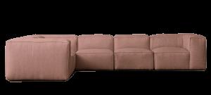 sofa rosa claro