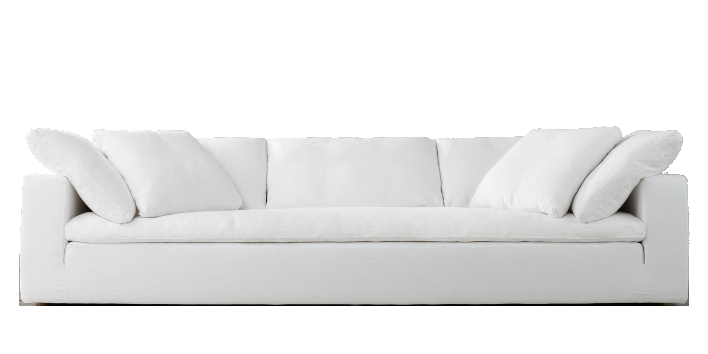 sofa blanco Costa Valencia