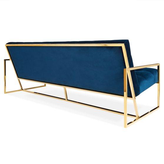 sofa de lujo en laton