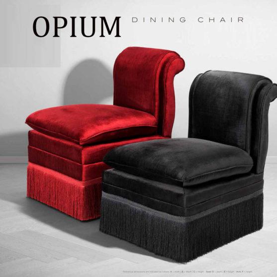 silla francesa opium