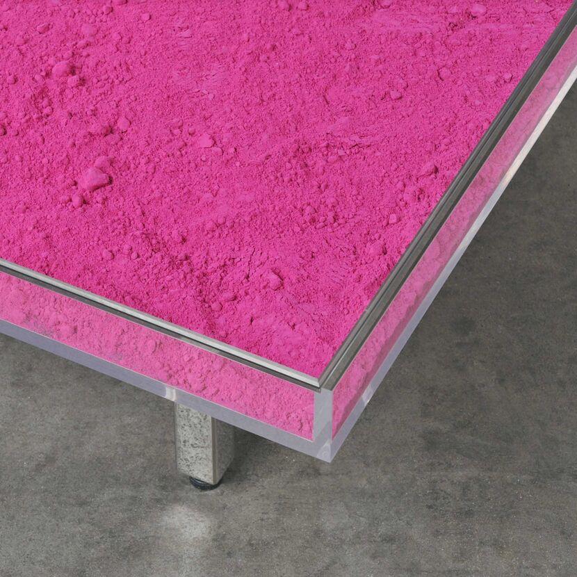 mesa rosa diseño