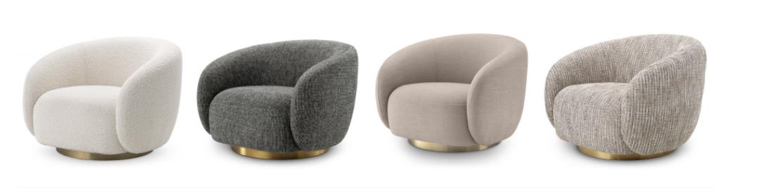 sillón diseño bouclé
